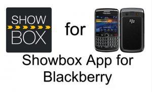 ShowBox for BlackBerry