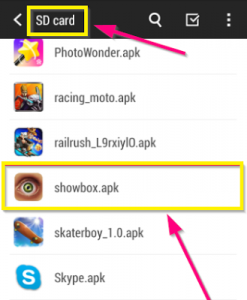 Run-ShowBox-APK-From-SDCard-Install