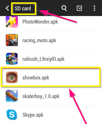 showbox apk for iphone showbox app for android ios blackberry pc mac 16124